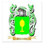 Schneider Square Car Magnet 3