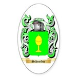 Schneider Sticker (Oval)