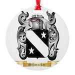 Schmucker Round Ornament