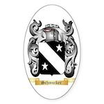 Schmucker Sticker (Oval 10 pk)