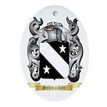 Schmucker Oval Ornament