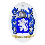 Schmedek Oval Ornament