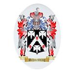 Schmedding Oval Ornament