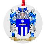 Schmaltz Round Ornament