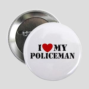 I Love My Policeman Button