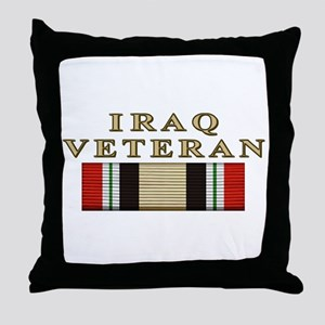 Iraq Vet Throw Pillow