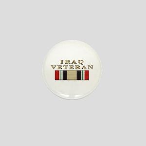 Iraq Vet Mini Button