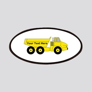 Personalized Dump Truck Patch
