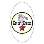 Soviet Steeds Oval Sticker