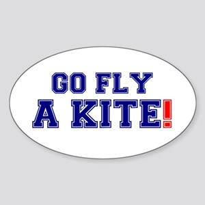 GO FLY A KITE! Sticker