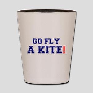 GO FLY A KITE! Shot Glass