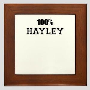 100% HAYLEY Framed Tile