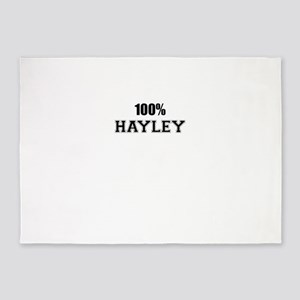 100% HAYLEY 5'x7'Area Rug