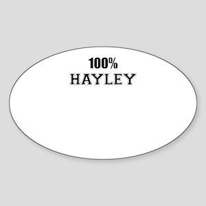 100% HAYLEY Sticker