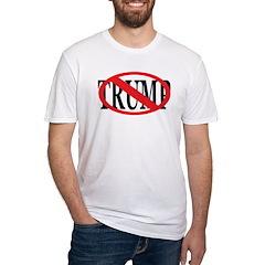 Red Slash Through Trump T-Shirt