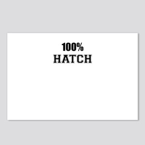 100% HATCH Postcards (Package of 8)