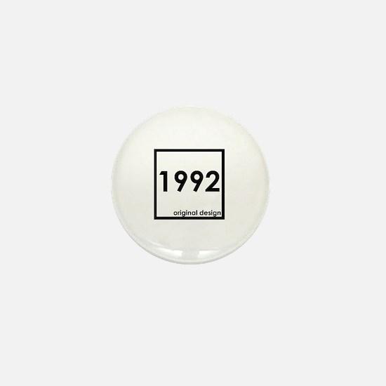 Funny 1992 Mini Button