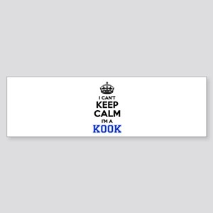 I cant keep calm Im KOOK Bumper Sticker