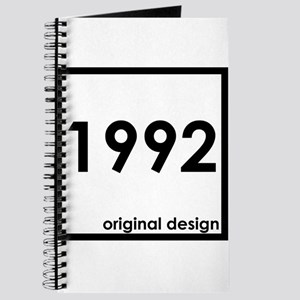 1992 birthday age year born design origina Journal