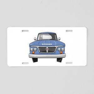 1965 Dodge Truck Aluminum License Plate