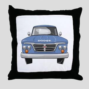 1965 Dodge Truck Throw Pillow