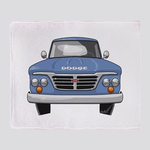 1965 Dodge Truck Throw Blanket