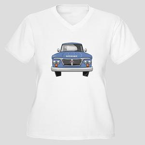 1965 Dodge Truck Women's Plus Size V-Neck T-Shirt