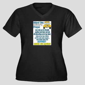 schoolbusdriverprayerpic1 Plus Size T-Shirt