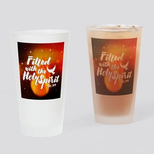 Filled Drinking Glass