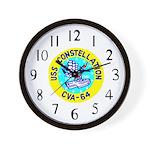 USS Constellation (CVA 64) Wall Clock