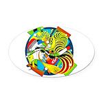 Design 160325 Oval Car Magnet