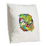 Design 160325 Burlap Throw Pillow