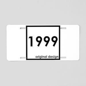 1999 year age birthday orig Aluminum License Plate