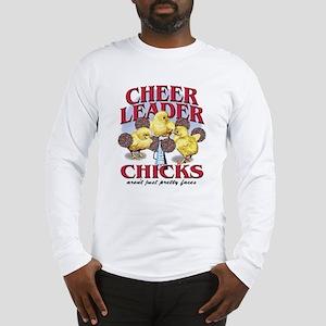 Cheerleader Chicks Long Sleeve T-Shirt