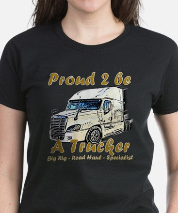 Proud to be a Trucker T-Shirt