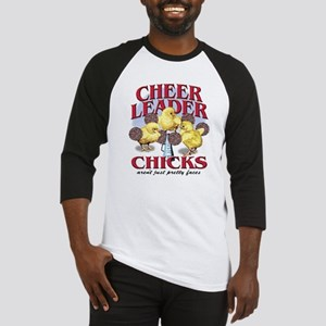 Cheerleader Chicks Baseball Jersey