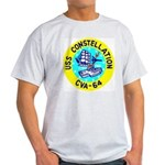 USS Constellation (CVA 64) Light T-Shirt
