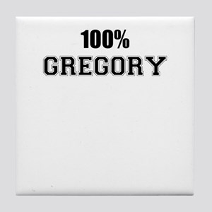 100% GREGORY Tile Coaster