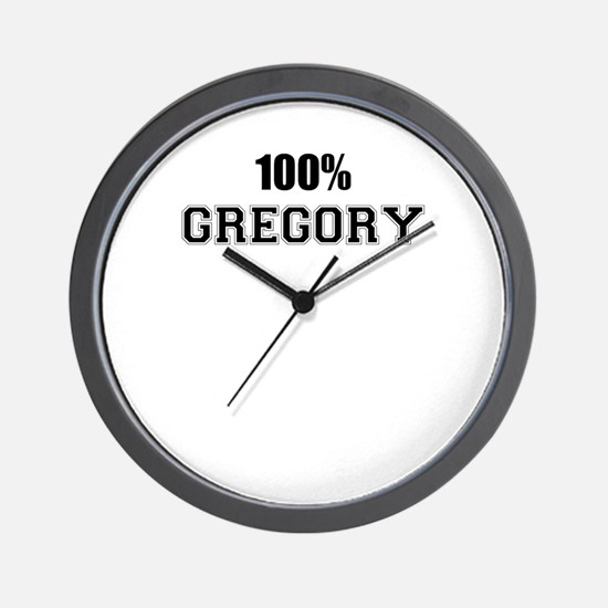 100% GREGORY Wall Clock