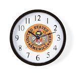 USS America (CVA 66) Wall Clock