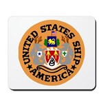 USS America (CVA 66) Mousepad