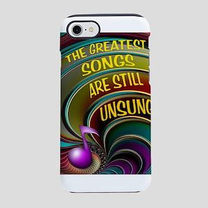 UNSUNG SONGS iPhone 8/7 Tough Case