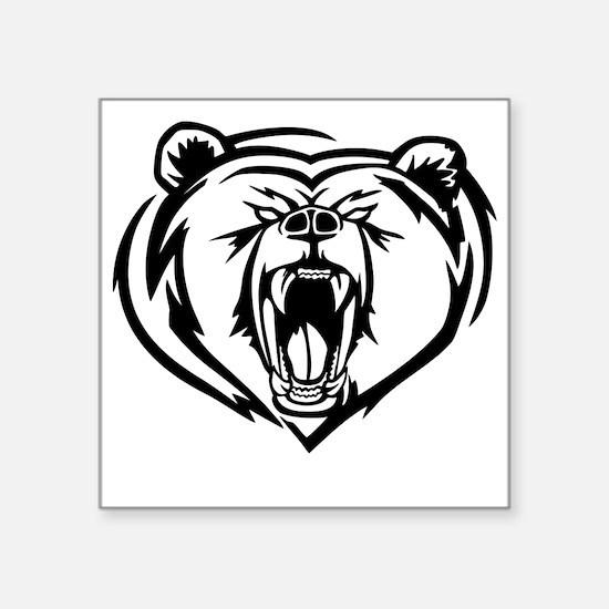 Grizzly Bear Sticker