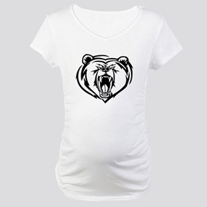 Grizzly Bear Maternity T-Shirt