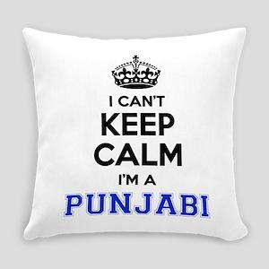 I cant keep calm Im PUNJABI Everyday Pillow