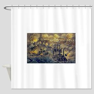 vicksburg Shower Curtain