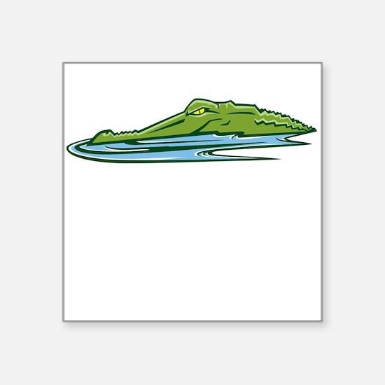 Alligator Head Sticker