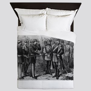napolean and kaiser Queen Duvet