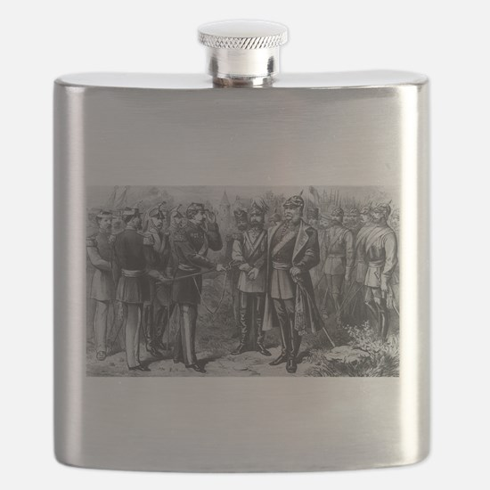 napolean and kaiser Flask