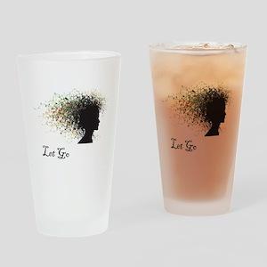 yoga139 Drinking Glass